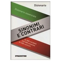 Dizionario sinonimi e contrari 14x19