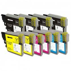 Kit cartucce Brother LC985 comp. 10pz