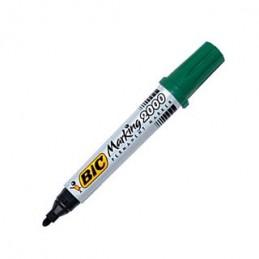 Marker Bic punta tonda verde 2000