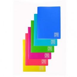 Maxi quaderno One color neon copertina ppl 5mm