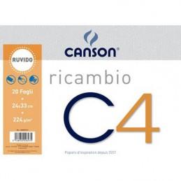 Ricambio Blocco C4 20fg 24x33 224gr.ruvido