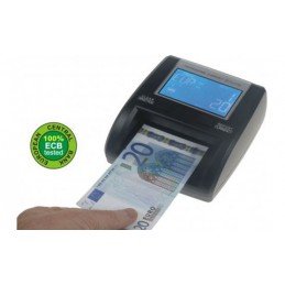 Rilevatore di banconote conta e controlla - portatile con batteria