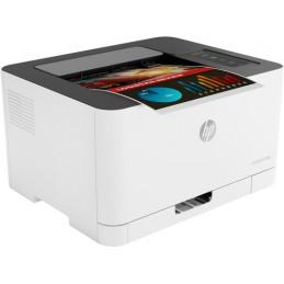 Stampante laser colore HP 150nw-18 ppm b/n e 4 ppm colore - capacità carta 150 fg - USB 2.0 - WiFi - Ethernet 10/100Base-TX - Fu