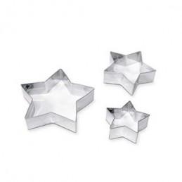Stampini / formine in acciaio Natalizie 3pz
