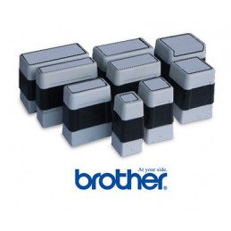 Timbro brother 22mmx60mm blu