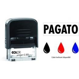 Timbro colop Printer 20 PAGATO