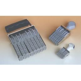 Timbro Numeratore 7mm 6 colonne manuale