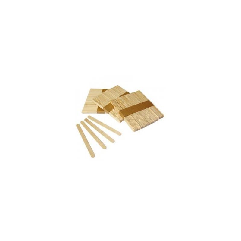 Stecche legno naturale 50pz