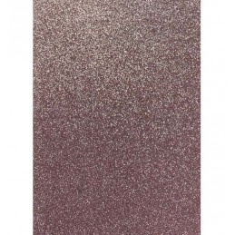 Cartoncino glitterato Fabriano 50x65 rosa 330gr