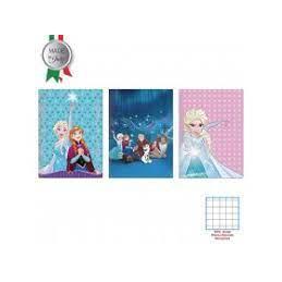 Maxi quaderno Frozen 40fg / 80pg - rigo A